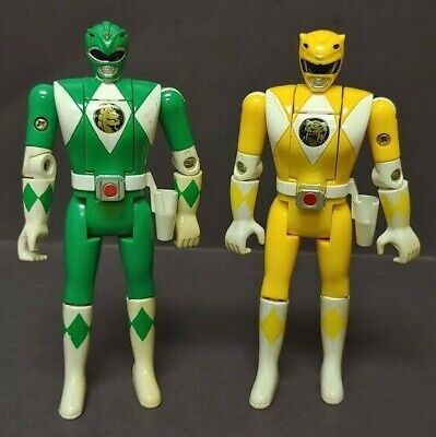 Massive Collection Of Mighty Morphin Power Rangers Figures Including Tommy