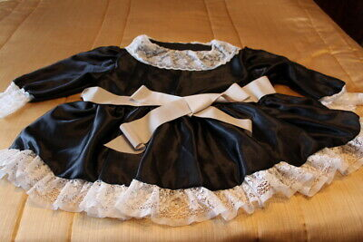 adult baby, sissy, french maid dress with hat , pants and skirts  for tim