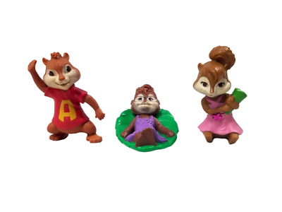 Mcdonalds Happy Meal 2011 Alvin The Chipmunks Chipwrecked 3 Figures 9 99 Picclick