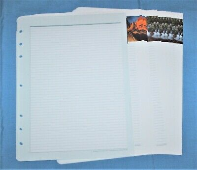 FranklinCovey - 21 Pages Lined Note Sheets (Size 5 - Monarch - 7 Hole)
