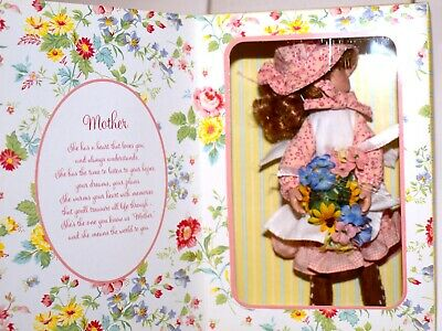 Marie Osmond Holly Hobbie Greeting Card Doll Mother's Day 2006 FREE SHIP