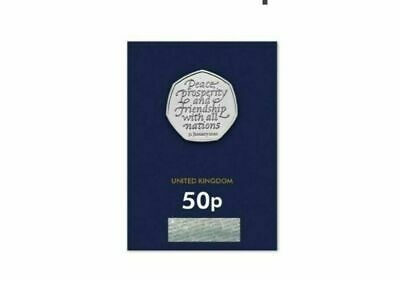 *** BRAND NEW UNCIRCULATED 2020 BREXIT 50p COIN - BU NEW COIN ***