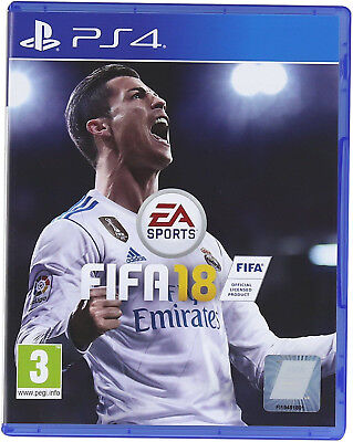 FIFA 18 PS4 Excellent Condition Super Fast Postage UK Seller
