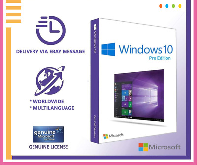 Microsoft Windows 10 Pro Lifetime Activation Key | Genuine Code