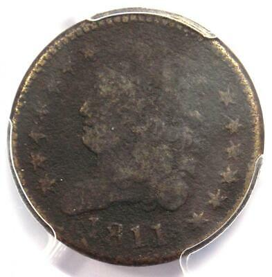 1811 Classic Head Half Cent - PCGS VG Details - Rare Key Date Certified Coin!
