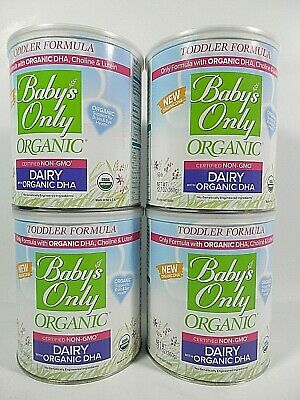 Baby's Only Organic  Non-GMO Dairy Toddler Formula 12.7 oz exp 12/2020 X 4 Count