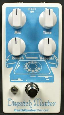 EarthQuaker Devices Dispatch Master v3 Delay Reverb Guitar Effect Effects Pedal