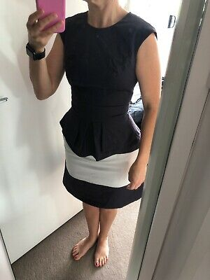 Cue Top And Skirt Suit Set Navy Size 8