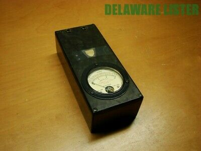 Vtg. Weston #506 OHMS Volt DC Dated 1926 Test Meter 538-J Wooden Box RARE ✅