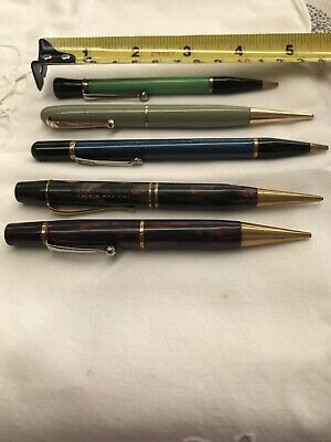 Vintage Propeller Pencils x 5 various colours