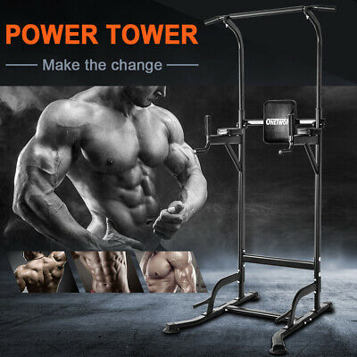 OneTwoFit Pull up rack station for Home Gym fitness with Multi-Function OT084