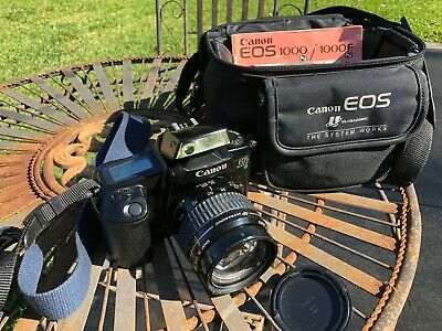 Canon EOS 1000F SLR Camera with 35-105mm lens
