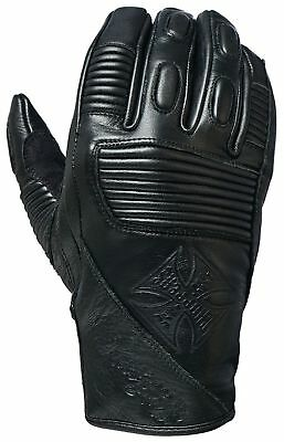 West Coast Choppers - Wcc Bfu Leather Riding Gloves Leather Gloves - Black