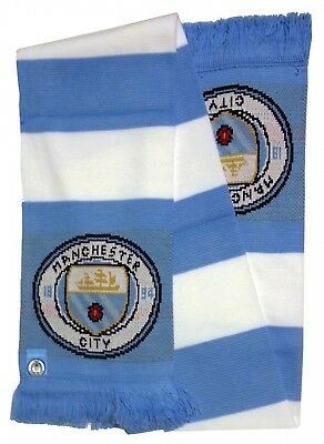 Forever Collectibles - Epl Manchester City Scarf - Blue