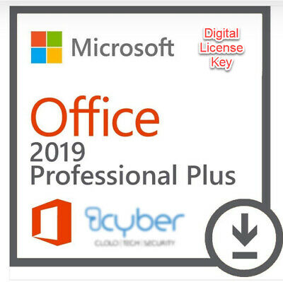 GENUINE RETAIL - Microsoft Office Professional Plus 2019 (Windows 10 Only)