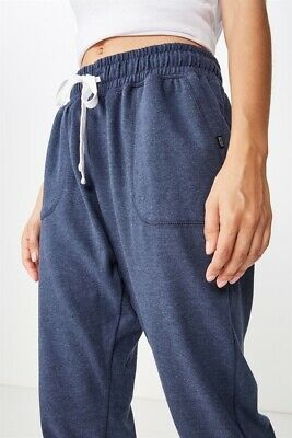 Cotton On Body Womens Gym Track Pants  In  Blue