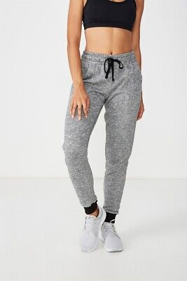 Cotton On Body Womens Gym Track Pants  In  Grey