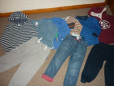 Bundle Boys Clothes age 3-4yrs Joggers Jeans Tops Hoodie GAP M&S Salrock