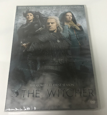 The Witcher : Complete First Season ( Brand New and Sealed DVD ) US Seller