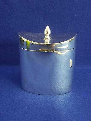 Top Quality James Dixon & Sons Late 19th Century Silver Plate Tea Caddy
