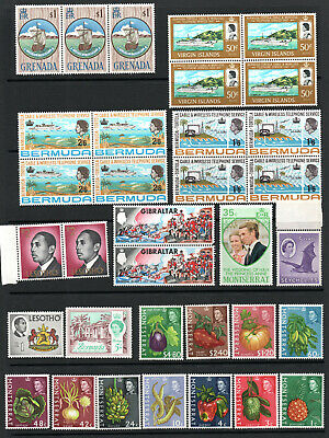 COMMONWEALTH - Selection X 34 MNH Stamps.