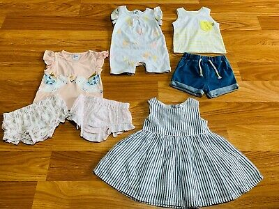 BNWT Baby Girls Summer Bundle Size 000 - 7 items RRP: $42.50