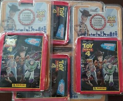 28 Sobres TOY STORY 4 PANINI STICKERS