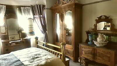 Antique 3 piece bedroom suite