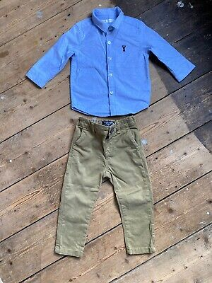 Baby Boys Bundle Next 9-12 Months Chinos Shirt Trousers Smart