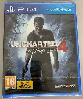 Uncharted 4 - A Thief's End PS4 game BRAND NEW UNOPENED.