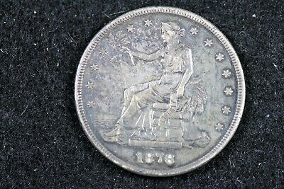 Estate Find 1878 - S Seated Trade Dollar!!  #J01496