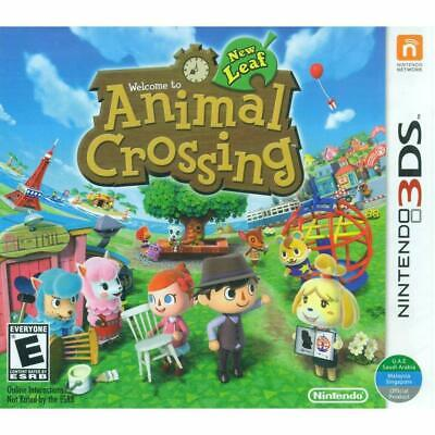 Animal Crossing New Leaf  Nintendo 3DS Game [NTSC, Nintendo Selects, Comedy] NEW