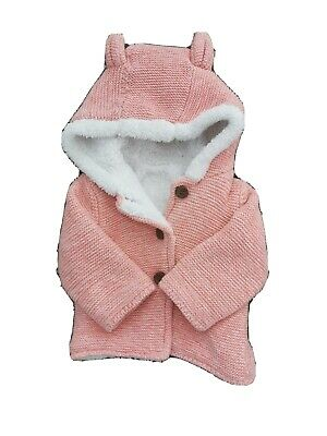 Baby Girls MOTHERCARE Pink coat/jacket 0-3 Months
