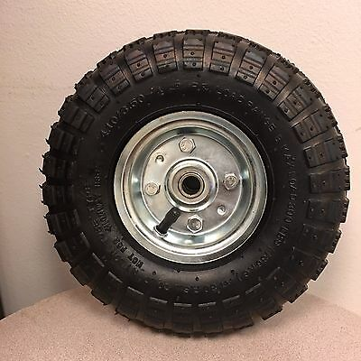 """Trojan 10"""" Replacement Wheel for Stallion & Pony Sewer Cleaning Machines"""