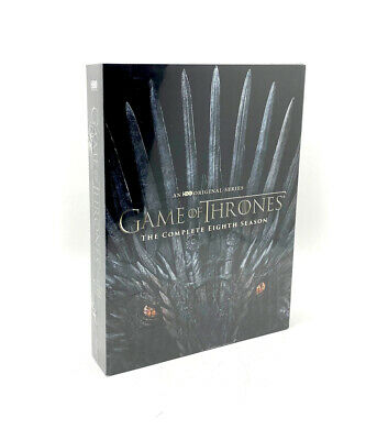 GAME OF THRONES EIGHTH SEASON 8 EIGHT DVD Set Brand NEW & Sealed Free Shipping