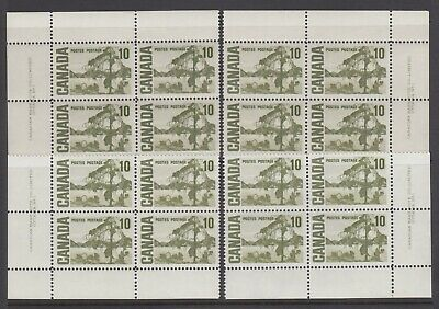 CANADA SET OF 4 PLATE BLOCKS 1 OF #462MNH 10c JACK PINE BY TOM THOMSON #2