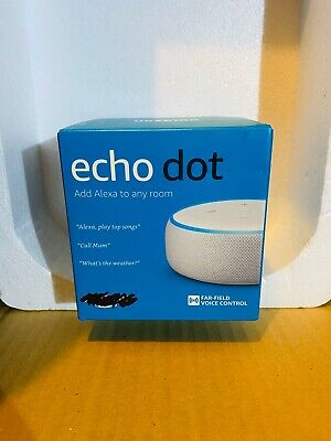 Amazon Echo Dot 3rd Generation - Smart Speaker with Alexa - Sandstone
