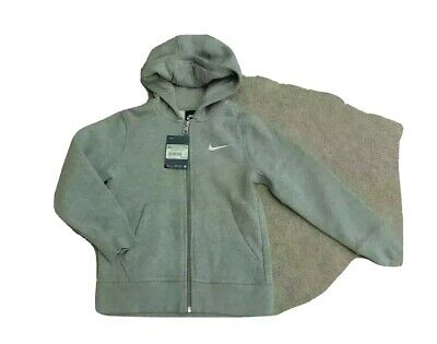 Boys Nike  grey Hoodie Age 6 - 8 years - new with tags - cost £ 30.00