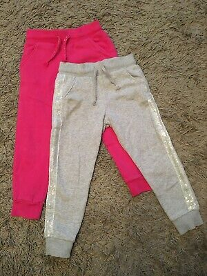 2x Girls Joggers Size 2-3 Years Old