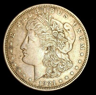 1921 D US Morgan Silver Dollar (C#3159)