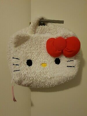 Official Sanrio Hello Kitty Fluffy Texture Carry Bag Perfect Present