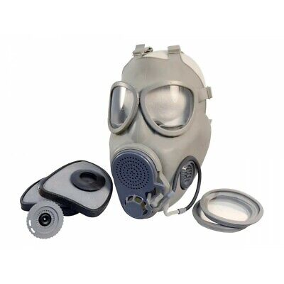 Czech Military Surplus M10M Gas Mask w/ Drinking Straw w/ sealed filters NOS