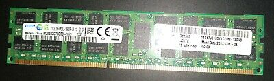 16GB PC3L Or PC3-10600R ECC REG 2RX4 1333MHz DDR3 Server WS DIMM Samsung