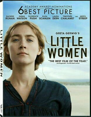 Little Women NEW [DVD,2020] NEW* PRE-ORDER MERYL STREEP SHIPS ON 04/7/2020