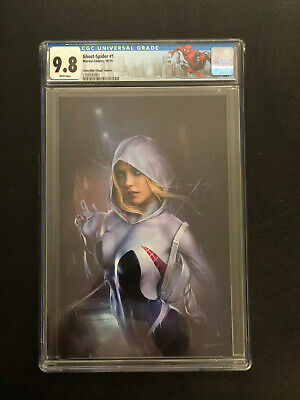 Ghost Spider #1 Shannon Maer Trade and Virgin Variant Set CGC Ready NM+