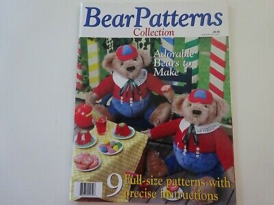 Bear Patterns Collection-9 Full Size Patterns With Precise Instructions