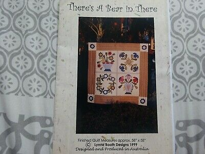 There's A Bear In There Quilt Pattern-Lynne Booth Designs 1999