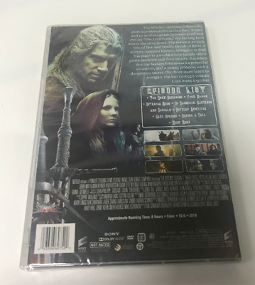 The Witcher: The Complete Season 1 (DVD, Box Set) Brand New & Sealed & US Seller