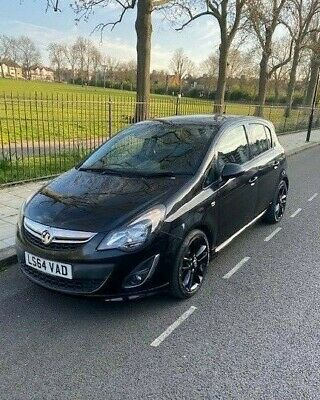 Vauxhall Corsa Black Edition 1.2 Pristine Condition