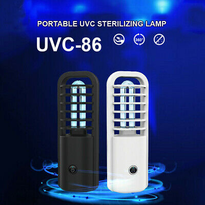 USB Ultraviolet Disinfection Lamp UV UVC Ozone Sterilization Disinfect Light Hot